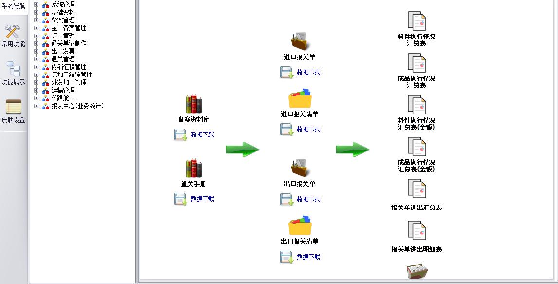 加工贸易关务管理软件系统2